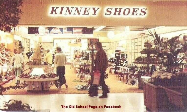 Kinney Shoes.   My childhood memories