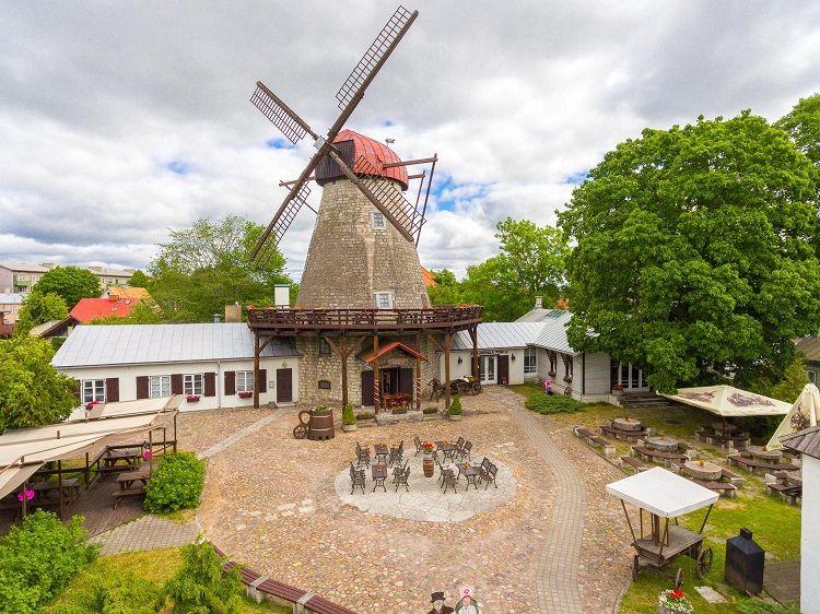Saaremaa Windmill - Exterior