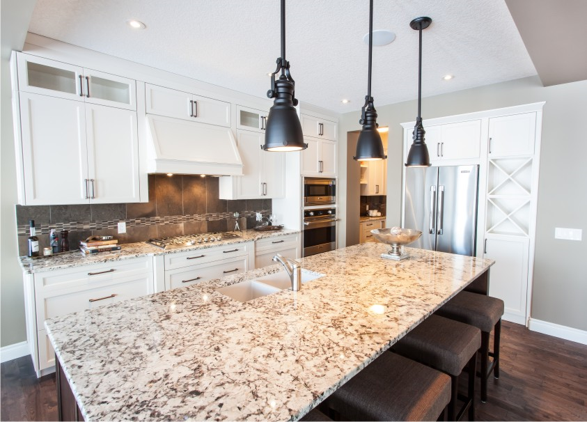 Show home for cornerstone homes in calgary alberta for Ak kitchen cabinets calgary