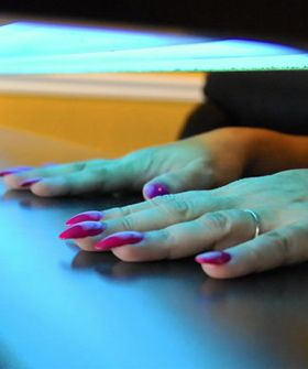 Bad News Bears: Skin Cancer Foundation Says UV Nail Lamps Are Cancer Risk #Refinery29