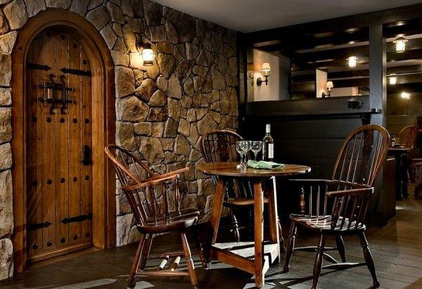 Basement Bar Designs, Pub Style Basement