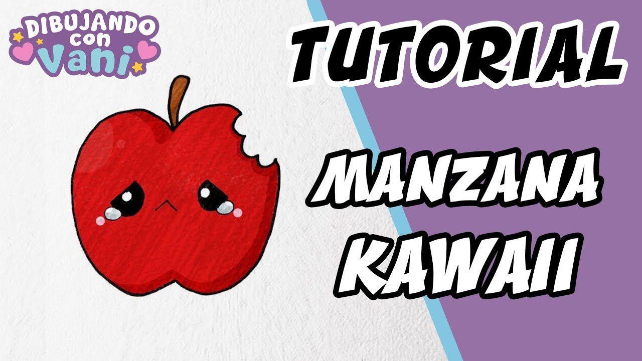 Como Dibujar Manzana Kawaii Draw Apple Kawaii Dibujando