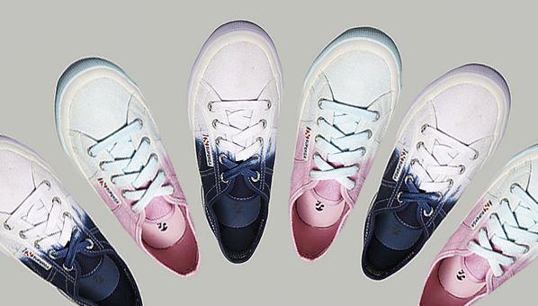 069ebe7e43ba63 Superga s (Ombre) Tie-Dyed Sneakers