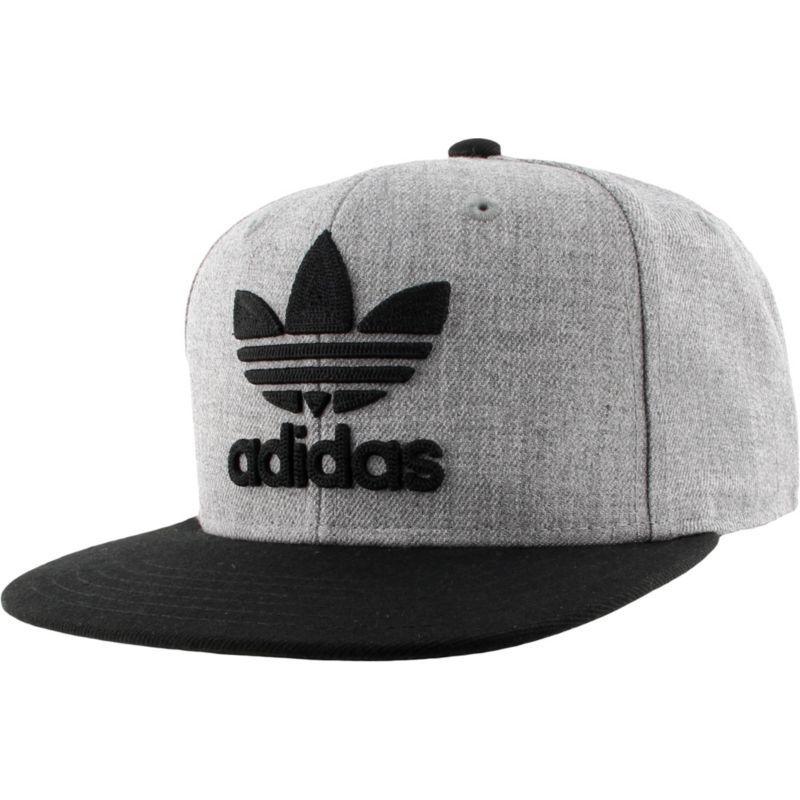 d79d8808152ae8 adidas Men's Originals Trefoil Chain Snapback Hat, Gray | Products ...