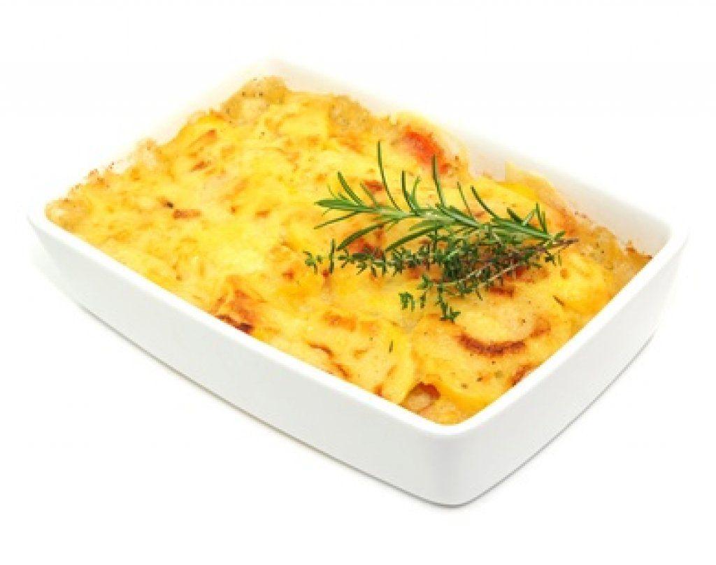 Erdäpfelgratin - schmeckt hervorragend und ist auch für Kochanfänger kein Problem nach zu machen.