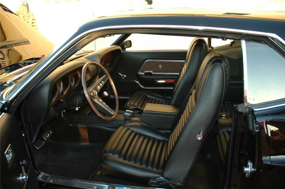 1969 Ford Mustang Boss 429 Fastback Re Creation Interior 96078