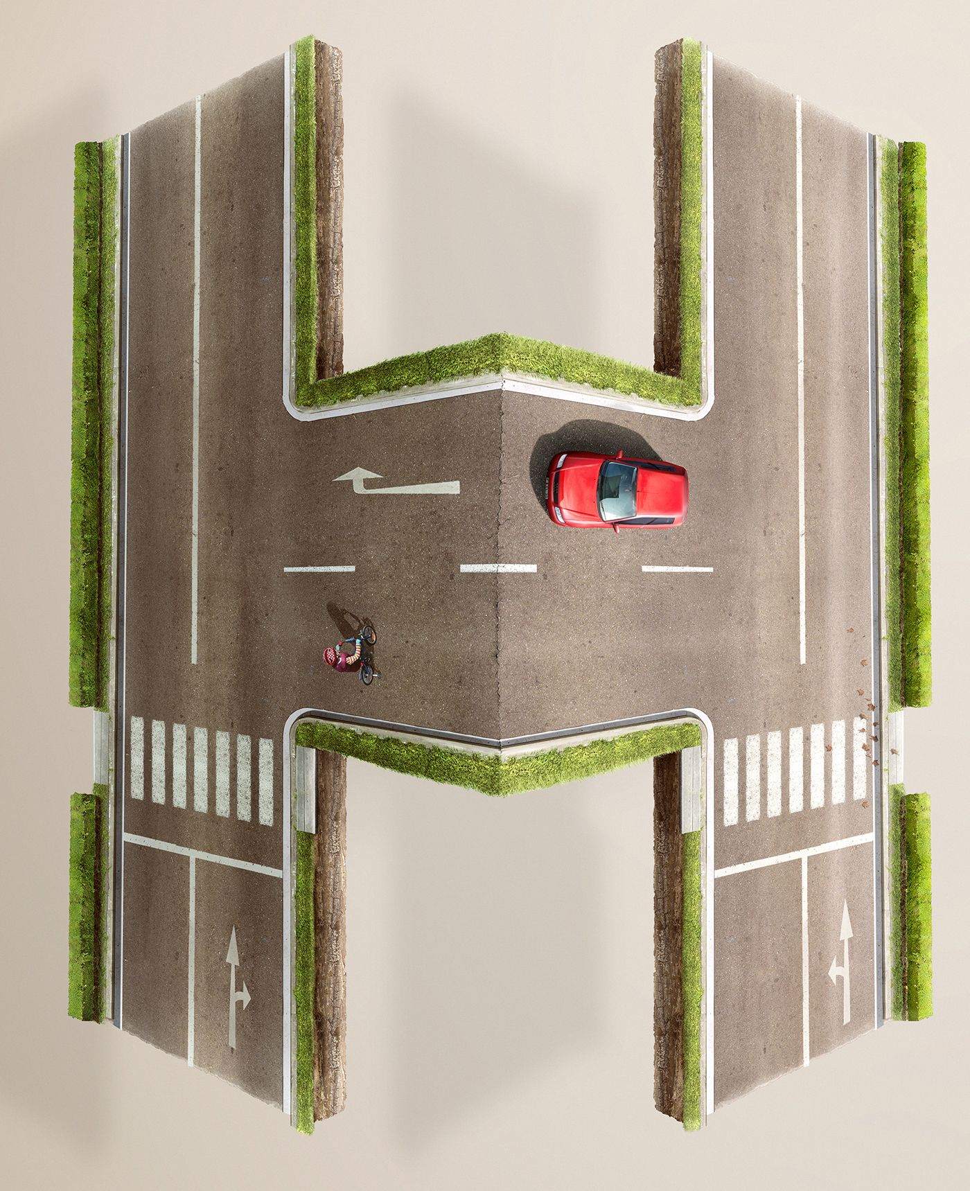 Don't Text & Drive on Behance