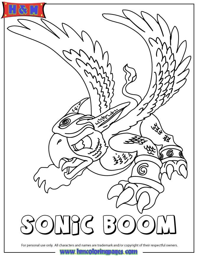 Explore sonic boom coloring book pages and more
