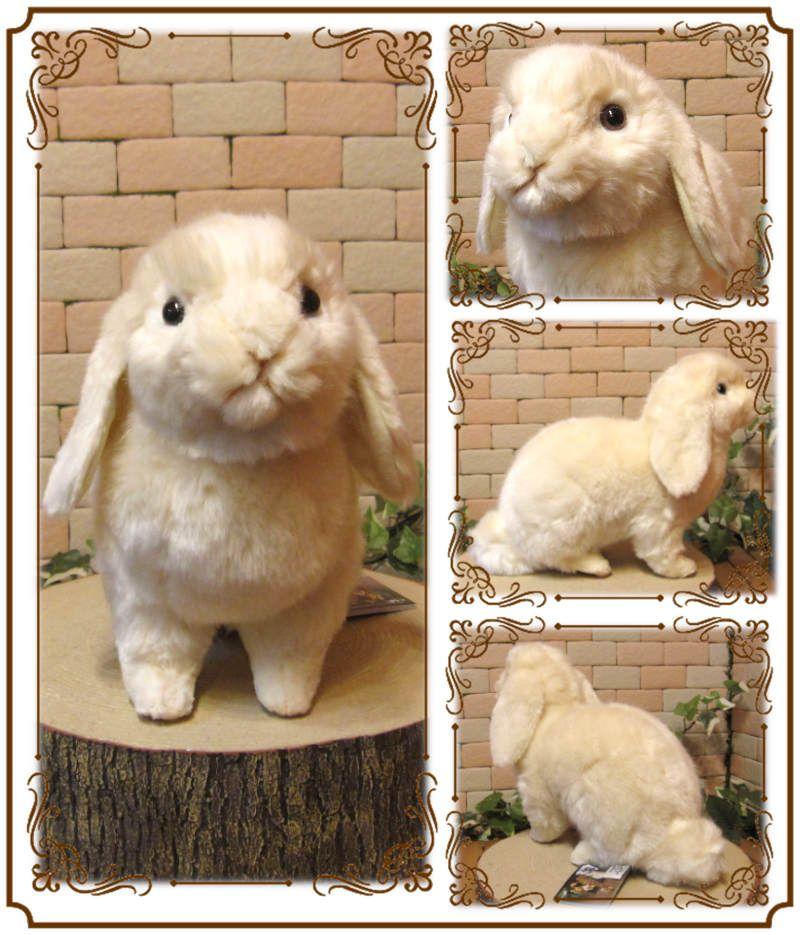 リアルなウサギのぬいぐるみ ロップイヤー うさぎの置物 ラビットオブジェ インテリア バニーグッズ フィギュア かわいい動物グッズの通販なら 雑貨の森 Ki Ra Ra ウサギ ぬいぐるみ 子うさぎ