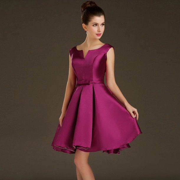 Short Elegant Evening Gowns