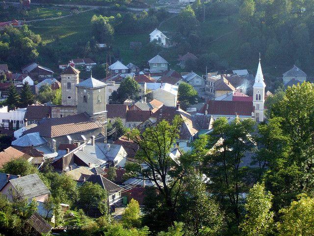 Abrud, Alba County, Romania | Romania, City icon, Transylvania
