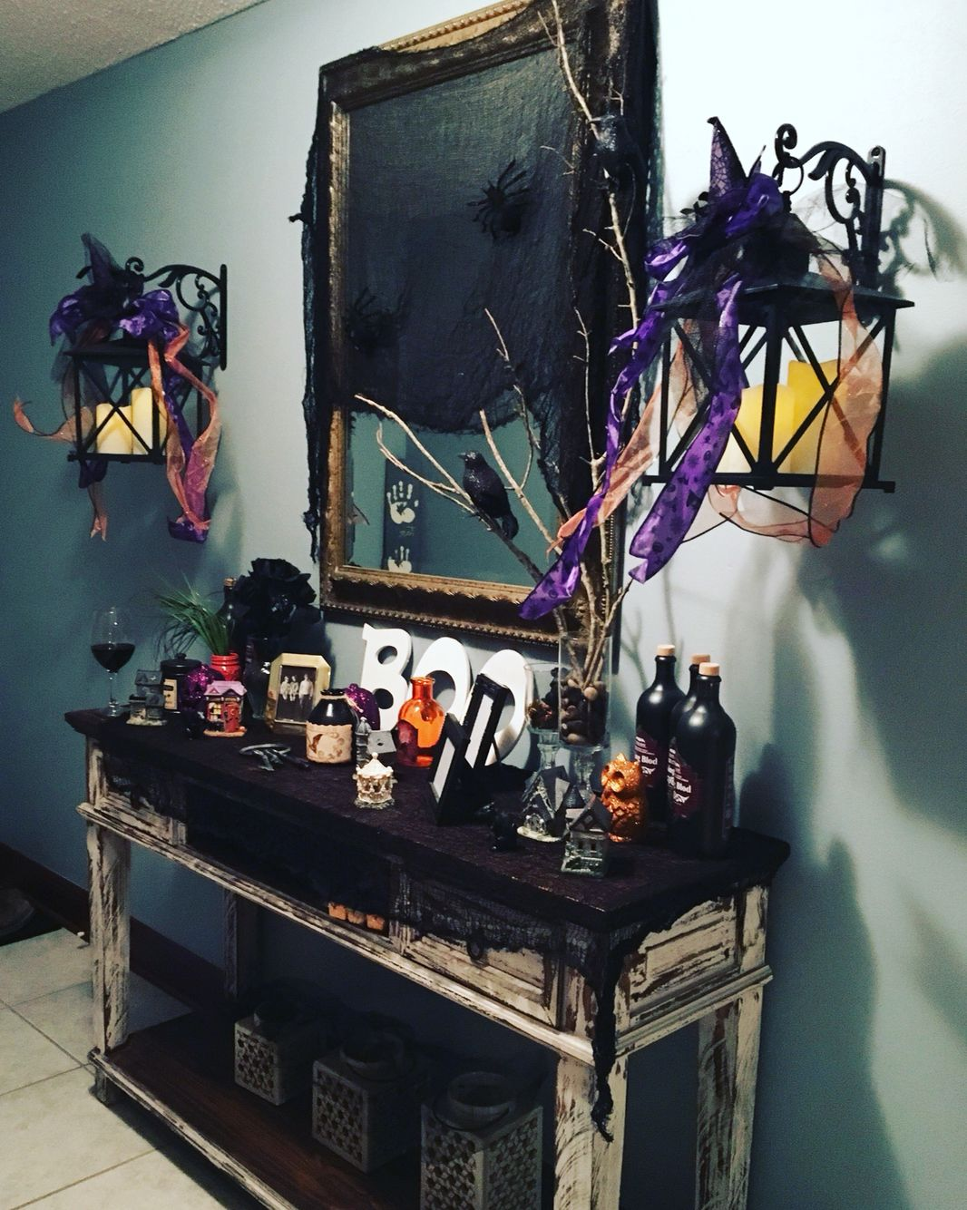 Halloween Foyer Decoration
