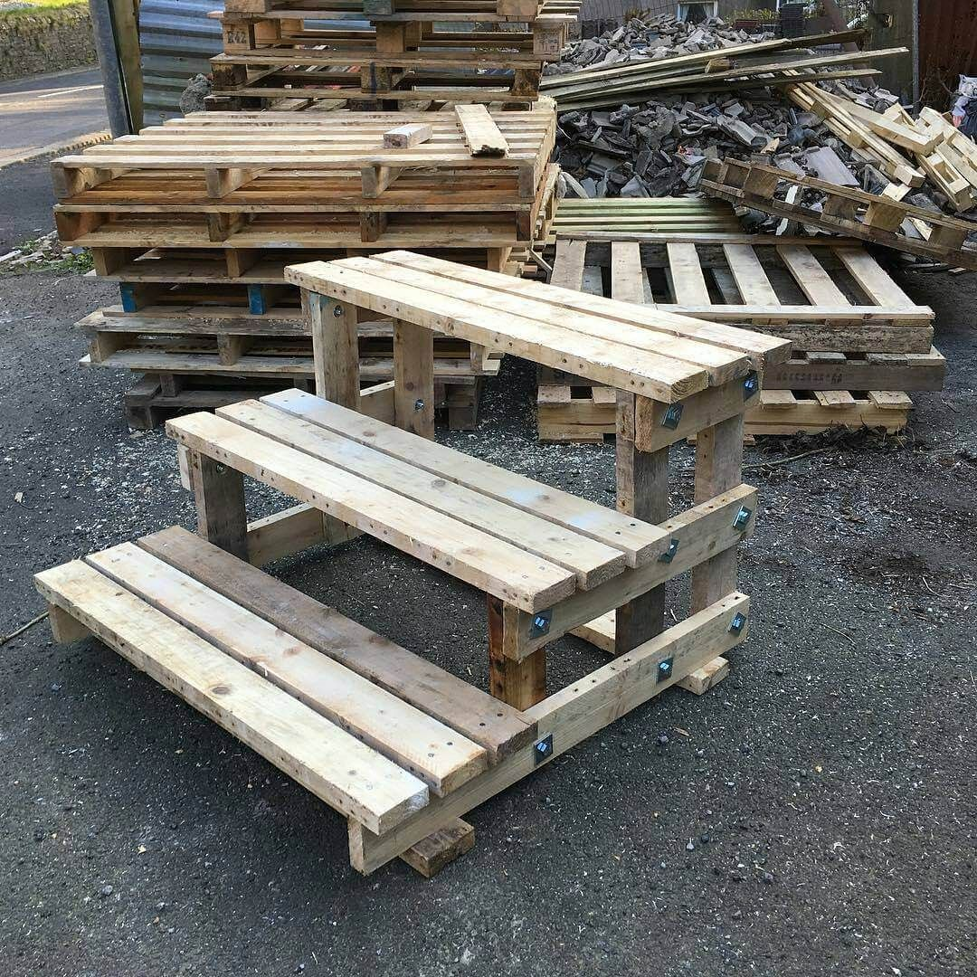 Diy wood pallet projects pallet stairs