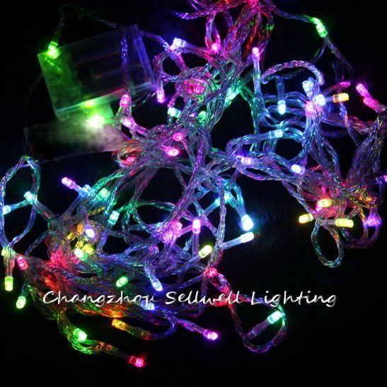 Sale Rushed Artificial Christmas Tree Great Led Christmas Light Wedding Celebration Lighting 10m Led Batter Led Christmas Lights Festival Lights Wedding Lights