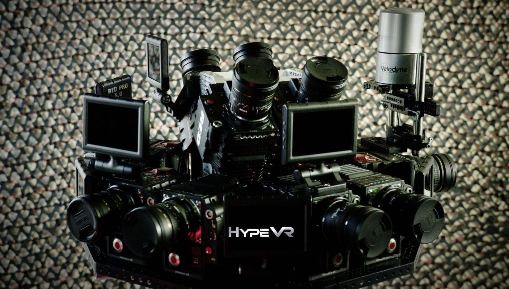 Hypevr Has Sheer Data Capture And New Multi Camera Rig S