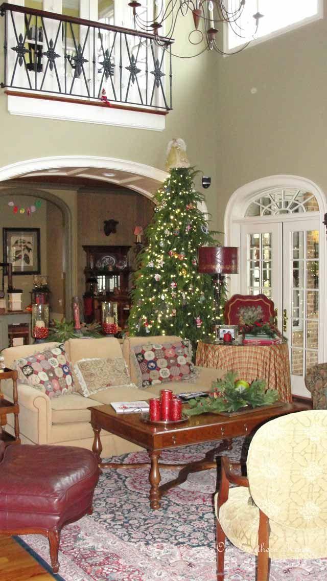 Family Room {Christmas Tour Southern, Room and Holidays - southern living christmas decorations