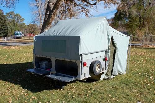 1959 Jc Higgins Tent Trailer This Looks Just Like The