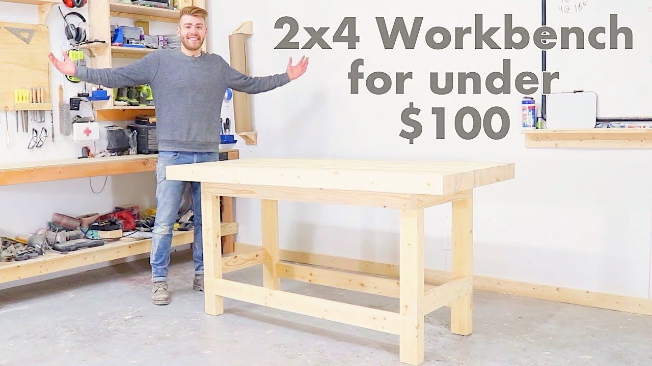 Outstanding Diy 2X4 Workbench For Under 100 Modern Builds Andrewgaddart Wooden Chair Designs For Living Room Andrewgaddartcom