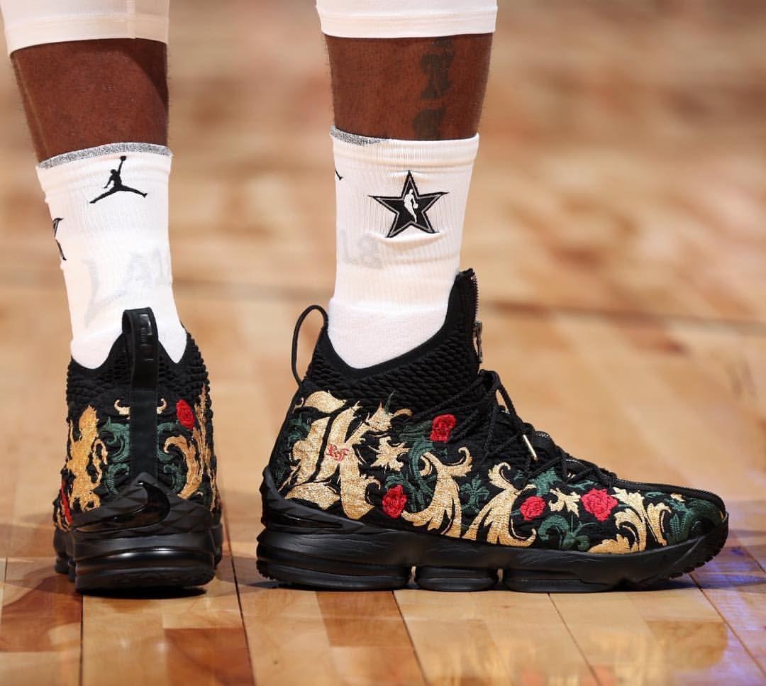 3bf6b4fa150 Nike LeBron 15 the king👑 All star MVP 18 Nba Pictures