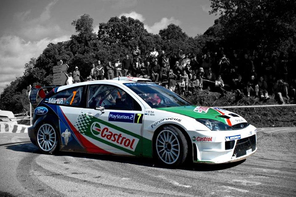Here S A Chance For You To Own A Works Race Winning Ford Rally Car Ford Focus Rally Car Ford Focus Rs