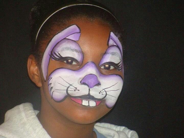 Fast bunny face painting ideas for kids Face Paint fast and fun