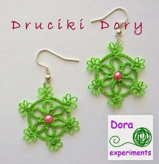 Dora experiments: 2. Kolczyki Koła / The (ear)Rings