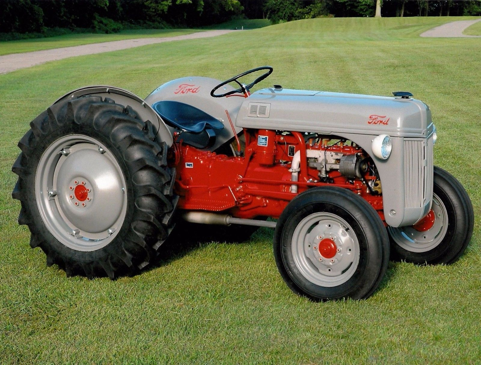 9n Ford Tractor 8n Parts : Ford n tractor workshop parts manual ebay