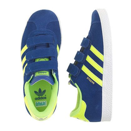 Kids Adidas Originals Gazelle 2.0 sneakers in larger sizes $57. js
