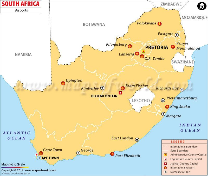 Image result for south african airports map KRUGER Pinterest - blank road map