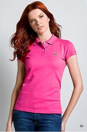 Lacoste pink T shirt | Steal her style! | Pinterest | Lacoste pink ...