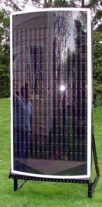 Solar Air Heater Furnace Eco 20 000 Btu Efficient Heat Solar
