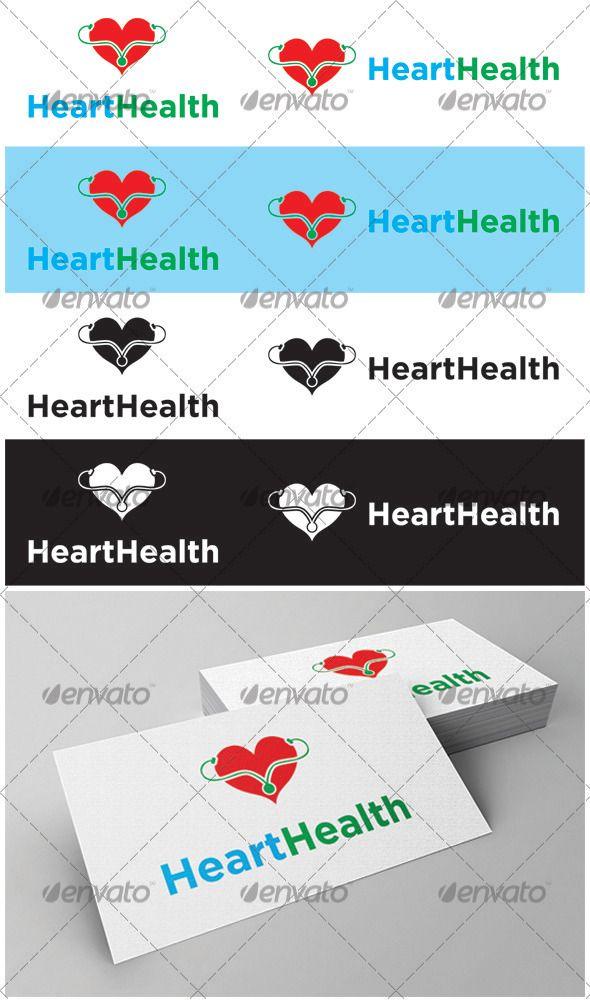 Heart Health Logo - GraphicRiver Item for Sale