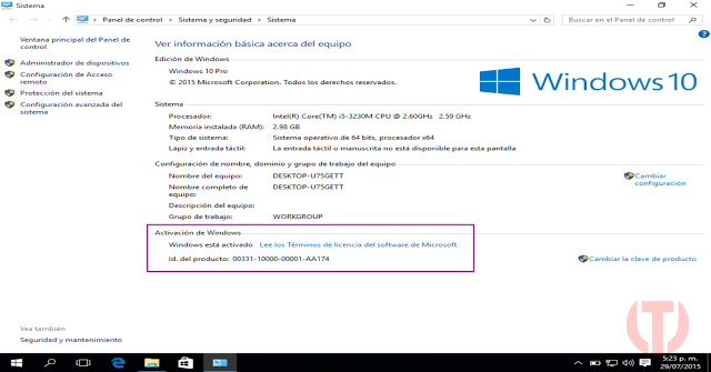 Windows 10 Pro Full En Español Final 32 Y 64 Bits Mega 1 Link Iso Tecmaxsoft Descargar Programas Gratis Para Pc Full Windows 10 Converter Windows