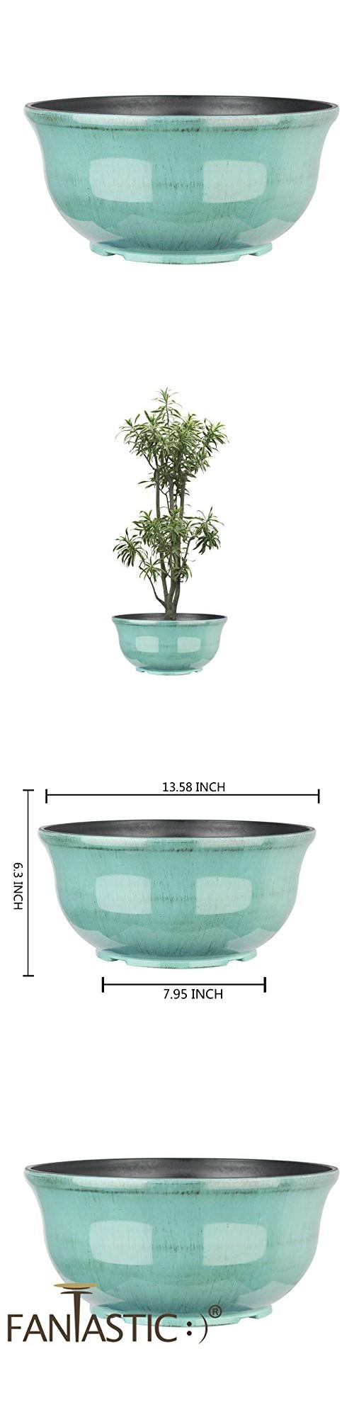 Plastic Decorative Bowls Fantastic™ 135Inch Low Bowl Shinny Finish Decorative Plastic