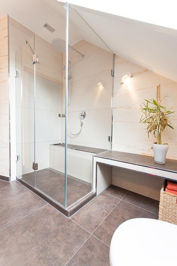 roeck haustechnik kleines bad ganz gro in roth groe duschebadezimmer - Kleines Bad Grosse Dusche
