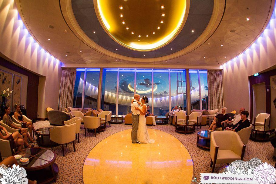 Royal Carribean Oasis Of The Seas Wedding St Thomas Cruise Wedding