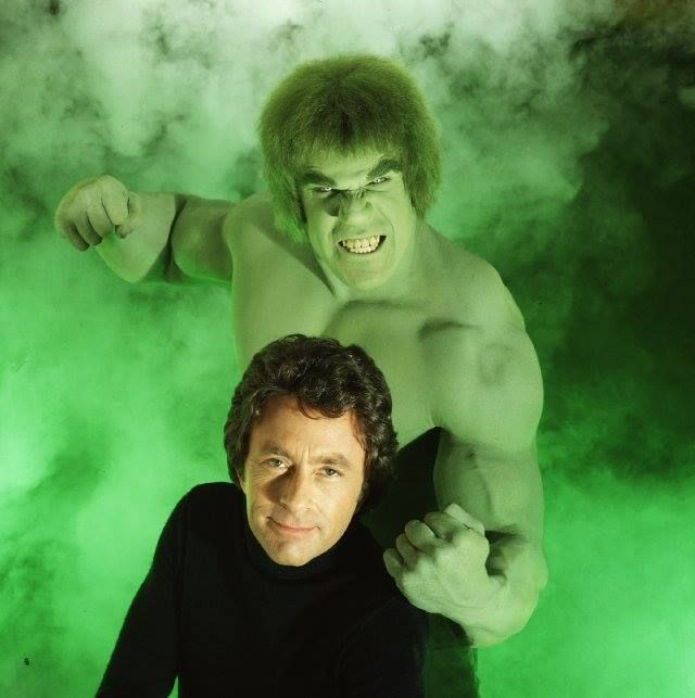 St Paddy's Day Green Things  The Incredible Hulk TV Show 1978 Starring Bill Bixy and Lou Ferringo