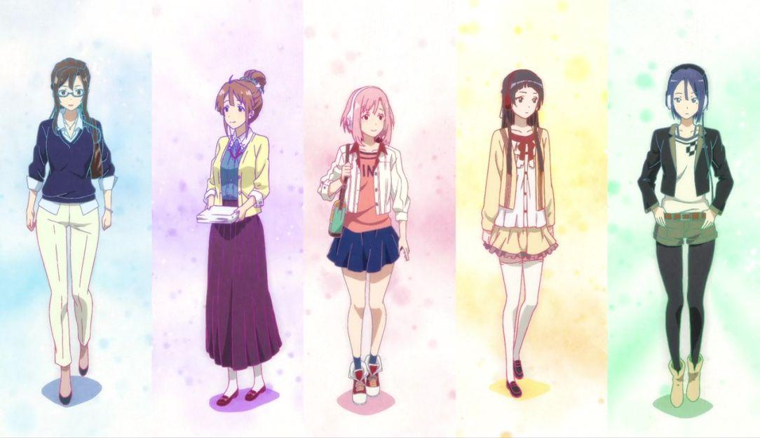 sakura quest おしゃれまとめの人気アイデア pinterest daniel wang アニメ サクラ 人物 イラスト