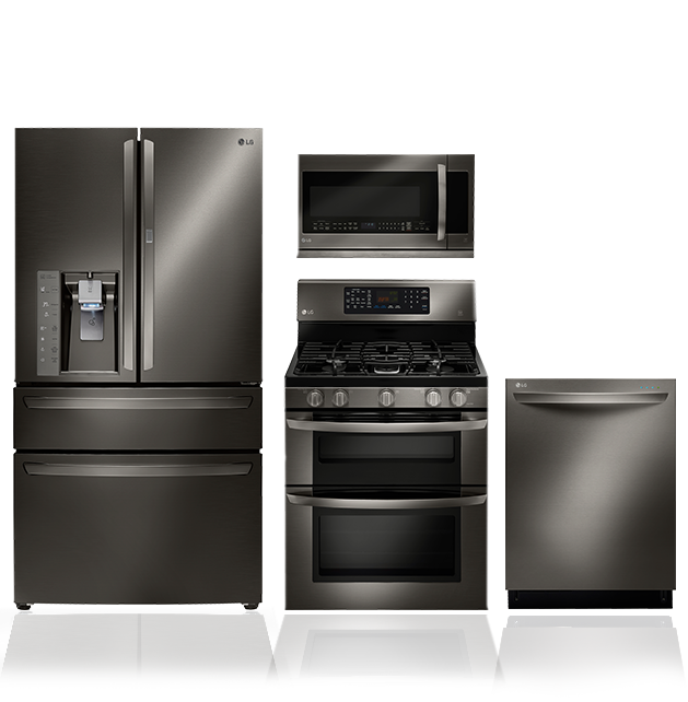 LG Black Stainless Steel Series: Black Stainless Steel Appliances | LG USA #LGLimitlessDesign #Contest