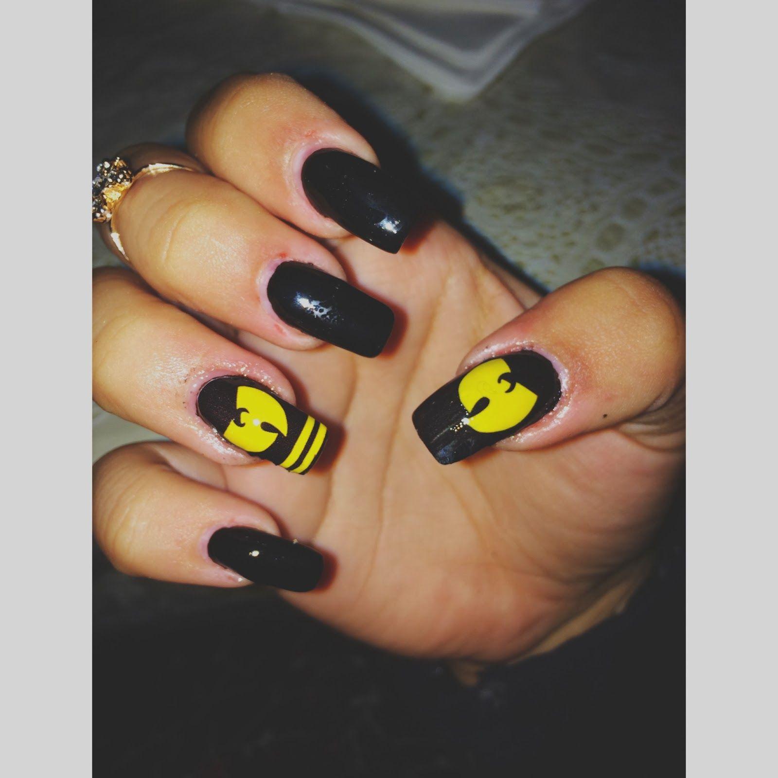 wu tang | Misc. | Pinterest | Wu tang, Style nails and Art nails