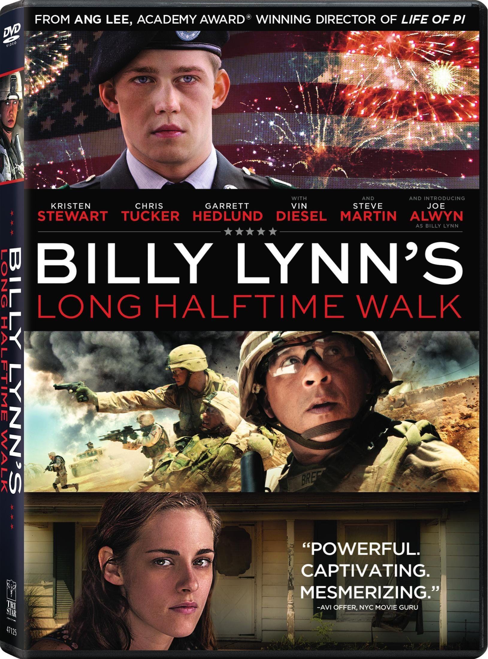 Billy Lynn's Long Halftime Walk Billy lynn, Ang lee, Lynn