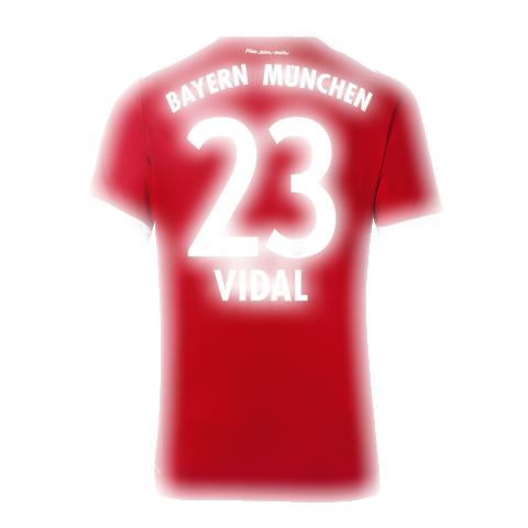 huge discount b59e8 719f6 Bayern Munich Jersey Shirt For Cheap Home Vidal 17-18 Kit ...