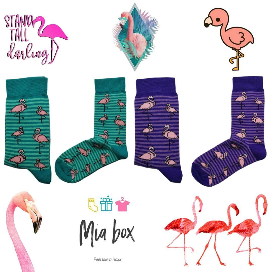 Flamingo Socks ???? Collection . Orders via whatsapp 0779942224 ☎️ . Socks features: ▪️Cotton ???????? ▪️One size (36-44