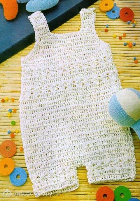 Tejer para recién nacidos. patrones de ganchillo | Crochet bebes y ...