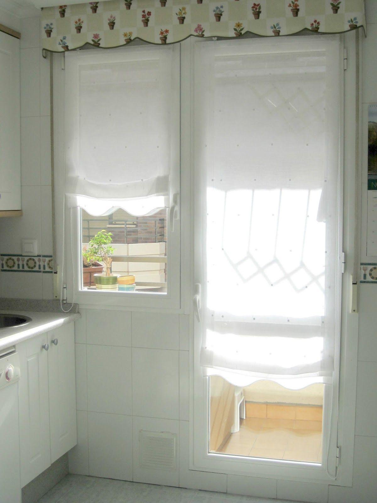 Gu a de cortinas estores enrollables para tu cocina - Que cortinas poner en la cocina ...