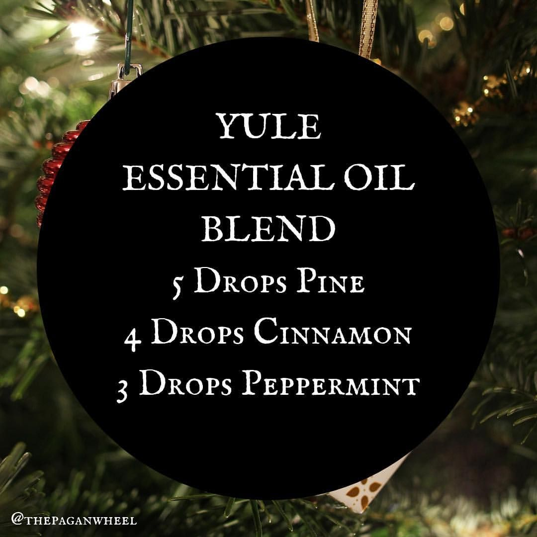 Wicca Christmas.Christmas Or Yule Blend Oils Essential Oils Essential