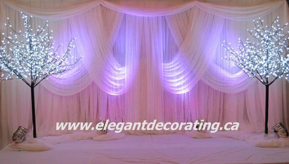 Wedding Stage Decor Edmonton Ideas Chair Covers Rentals Draping