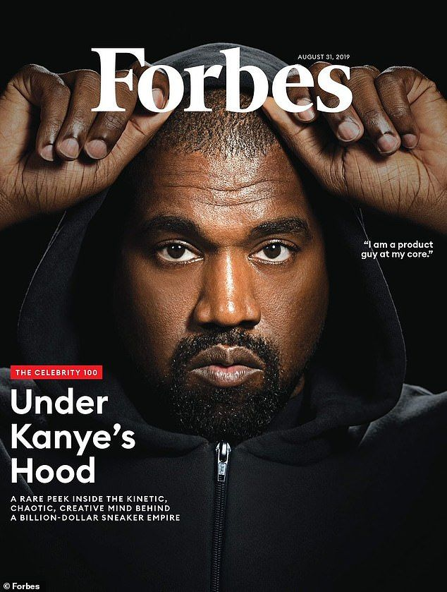 Kanye West S Yeezy Sneaker Empire Is Worth 1billion According To Forbes Cover Story Gq Magazine Cover Kanye West