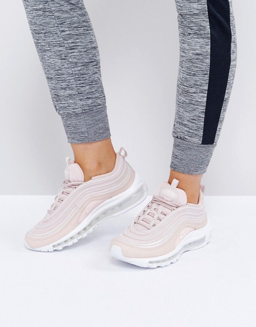 Buy it now. Nike Air Max 97 Premium Trainers In Pink Cream