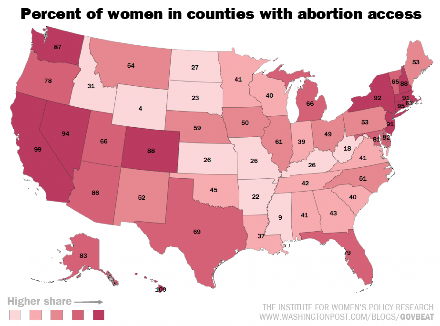 The Best States For Women In America In 11 Maps And Charts Women In America Map America